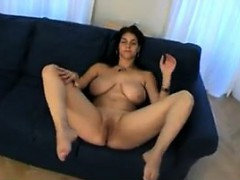 Teen With Big Tits Gets Naked And Teases