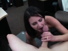 Sexy housewife banged by horny pawn man at the pawnshop