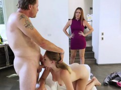 Pretty young sexy girl Iggy Amore gets banged by her step