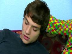 Blake Allen - A Dildo Gets Deep Inside Blake