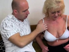 Granny gets a young guy for herself