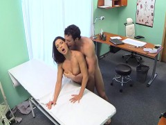Couple fucking in doctors office