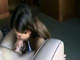 Thai nympho girl swallows allow his hot cum