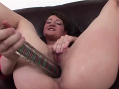 Tomboy Babe Plays With Her Huge Toy