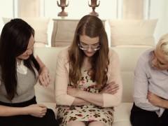Spex teenage mormon lez