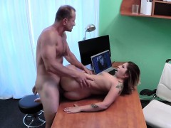 Petite patient hard fucks horny doctor