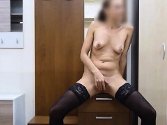 Milf Amateur Makes a Masturbation Video