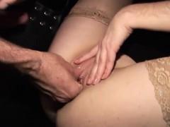 Brunette Milf Enjoys Fucking And Fisting Action