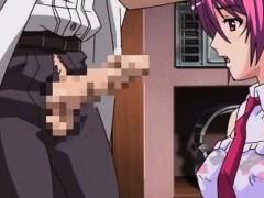 Anime Teen Gets Fucked In Bathtub