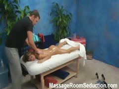 Veronica Seduced And Fucked By Her Massage Therapist On