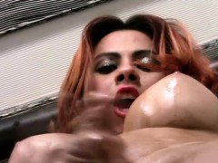 Naughty Shedoll Spreads Her Asshole And For Oil And Cumshots