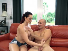 Sexy Chick Skyla Novea Asks For A Massage And Gets Cock