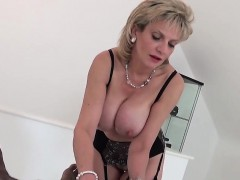 Unfaithful British Milf Lady Sonia Shows Off Her Large Tits