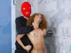 Shower Robber Bangs Black Booty
