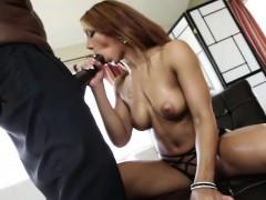 Latina Sophia Fiore Fucks Black Cock