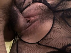 Hairy japanese babe fucked after blowjob