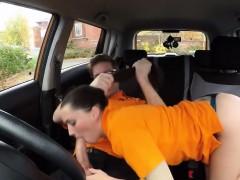 Pixiee Little Teen Drives Her Instructor Boner