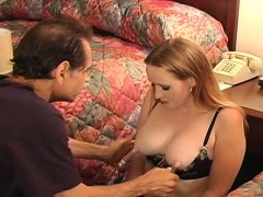Pussy and nipple torture for young slut's 1st s&m session