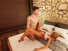 3d Shemale Gets Fucked By Big Cock!