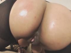 Wild Busty Brazilian Babe With Big Bubble Butt Masturbates
