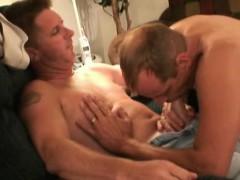 Mature Amateurs Steve And Robert Sucking