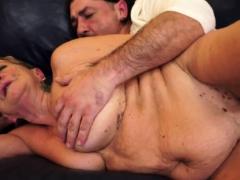 Saggy Grandma Gets Her Hairy Pussy Banged
