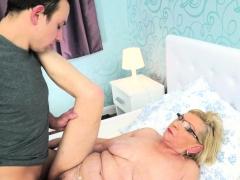 Spex Granny Cum Covered