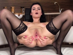 Wicked Czech Teen Opens Up Her Slim Pussy To The Special