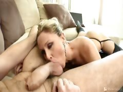 Julia Ann shows that sometimes a tight ass can be like a