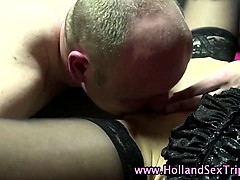 Dutch prostitute lesbian toying