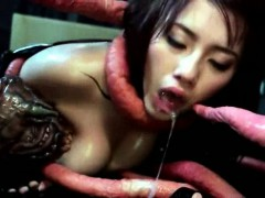 Ravished by a tentacle monster
