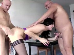 Anal fucking for mature British lady in stockings