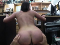 Customers wife fucked hard by pawnkeeper at the pawnshop