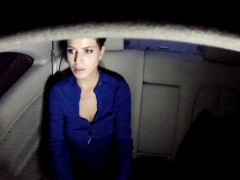 Cheated wife banged in fake taxi