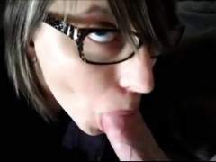 Cum Swallowing Teenager fucks and sucks