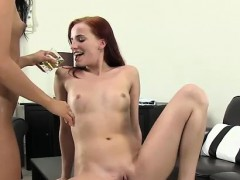 Leila Smith and Lollypop turned on by hot piss