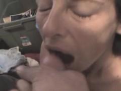 Mature Crack Whore Sucking Dick And Taking Facial POV
