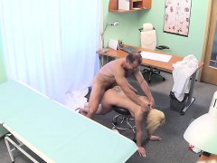 Doctor fucks his medical student