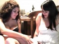 Lesbian Teens Hot Kissing On Webcam