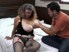 Agedlove granny got fucked doggystyle
