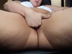 Omapass fat granny webcam masturbation