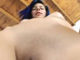 Cute Teen Shaved Pussy Close Up on Webcam