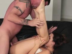 Sweet hot chick Reley Reid loves fucking hard meat
