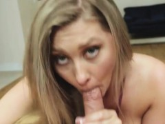 Teen Addison Lee fucked and receives warm cum on her face