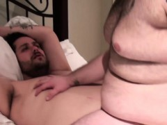 Superchub bear pounding masturbating bottom