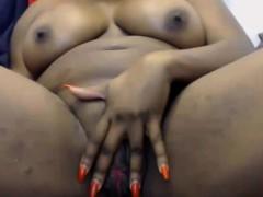 EbonyBikiniBabe with juicy butt and big tits ALIVEGIRLcom