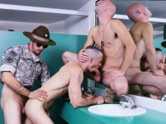 Military men with long cocks gay Good Anal Training