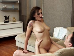 Young Hoe Gets Her Pussy Stretched By Boyfriend