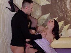 PINUP SEX - Passionate sex with pinup chick Felicia Kiss