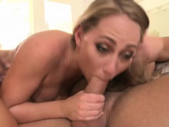 TEENGONZO Carter Cruise doggystyle sex and gobbling a load